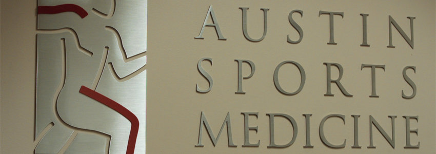 Austin Sports Medicine Sign