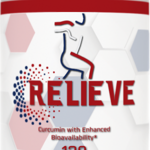 Relieve Curcumin With Enhanced Bioavailability Dietary Supplement